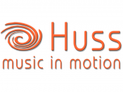 Huss - music in motion | DJ & Entertainment Service, Musiker · DJ's · Bands Langenau, Logo