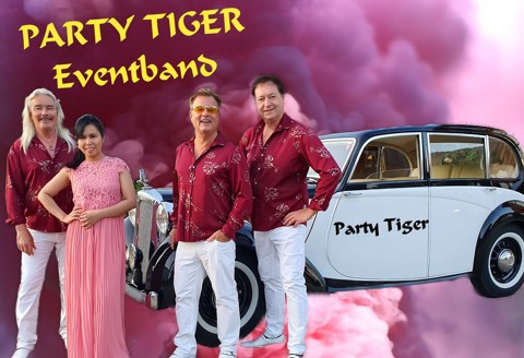 Kontaktbild Party Tiger, Musik · DJ's · Bands Bodensee